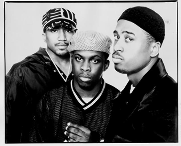 Q-Tip, Phife and Ali Shaheed. The founding members of A Tribe Called Quest.